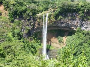 Waterfall near Chamarel