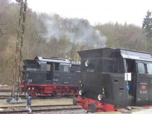 Loks der Brockenbahn im Harz