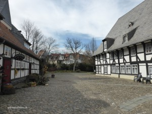 ein Hinterhof in Goslar