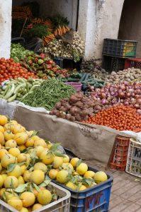 in the soukh of Agadir
