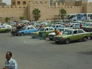 that´s where all the old Mercedes cars go, to Morocco