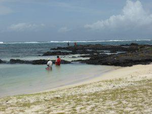 Beach at the Long Beach Hotel in Mauritius