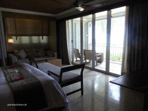 in einer der Suiten des St. Regis Mauritius