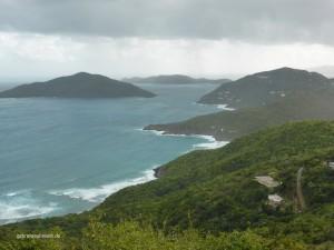 Blick über Tortola