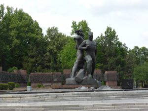 Monument of the Great Earthquake in Tashkent