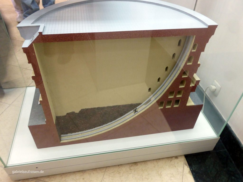 Model des Observatoriums des Ulug´Bek