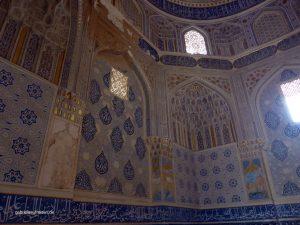 Innenansicht eines Mausoleums