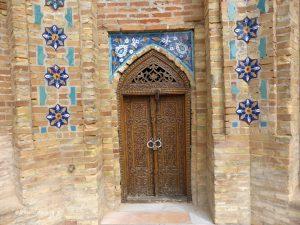 door in the Gur-Emir Mausoleum