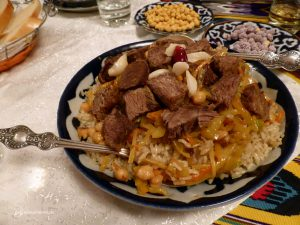 Plov, portion for several people...