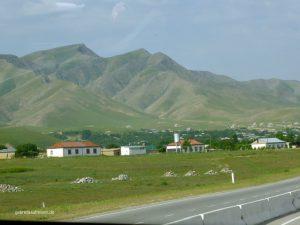 kurz hinter Samarkand
