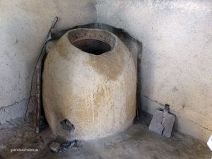 oven for the traditional bread