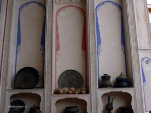 im Frühstücksraum des Lyabi House