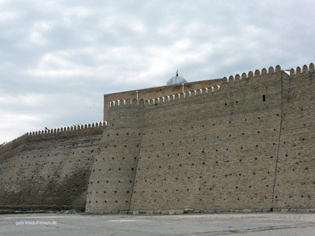 Stadtmauer von Buchara