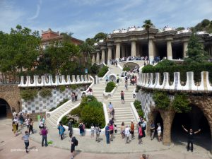 Park Güel by Antoni Gaudì