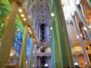 inside the Sagrada Familia