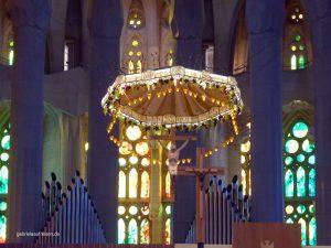 Altarbereich der Sagrada Familia