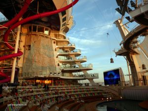 AquaTheater der Harmony of the Seas