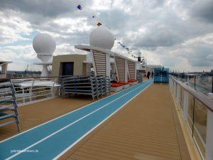 Joggingpacour auf der Mein Schiff 5