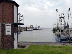 Hafen von Tammensiel auf Pellworm