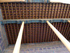 wunderschöne Deckenmalerei im Herrscherpalast
