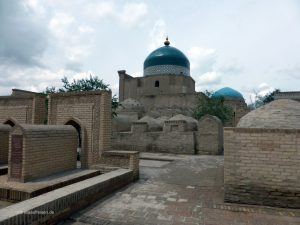 graves in Khiva