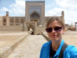 Hi and bye from Khiva
