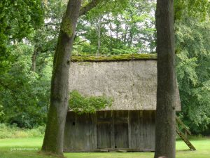 an old shed in Wilsede