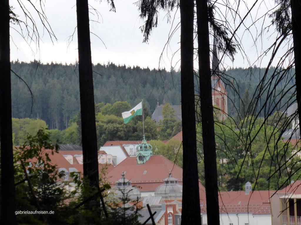 Blick über Bad Eslter