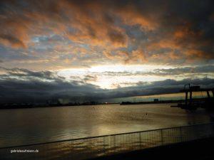 Sunrise in Le Havre