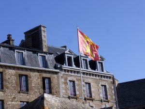 Flag of Mont. St. Michel