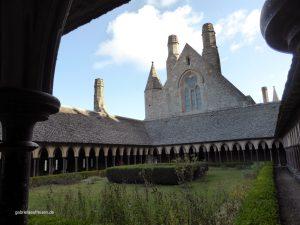 the garden of the monastary