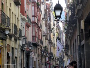 the old town of Bilbao