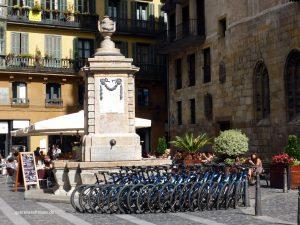 die Biker der Mein Schiff 4 machen Pause in Bilbao