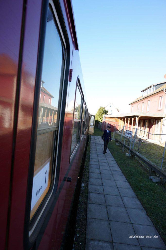 die Museumsbahn in Bleckede