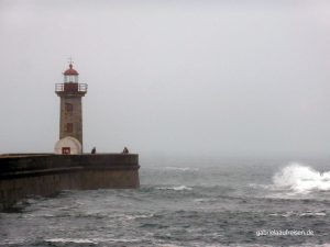 the lighthouse of Porto
