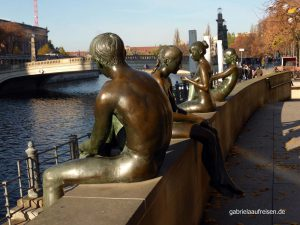 Art at the river Spree