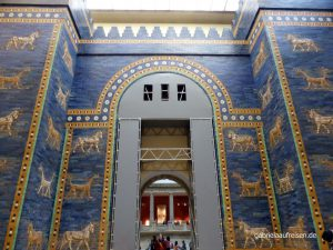 das Ischtar Tor im Pergamon Museum