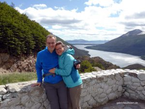 Ausblick auf den Lago Escondido