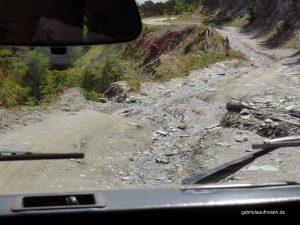 Jeep tour near Ushuaia