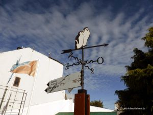 Wegweiser in Ushuaia