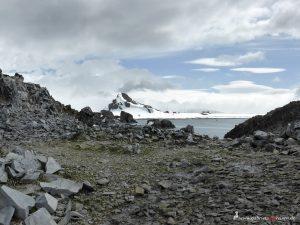 Antarctica, Halfmoon Bay, Argentine Station