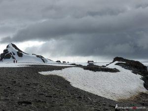 Antarktis, Halfmoon Bay, argentinische Station
