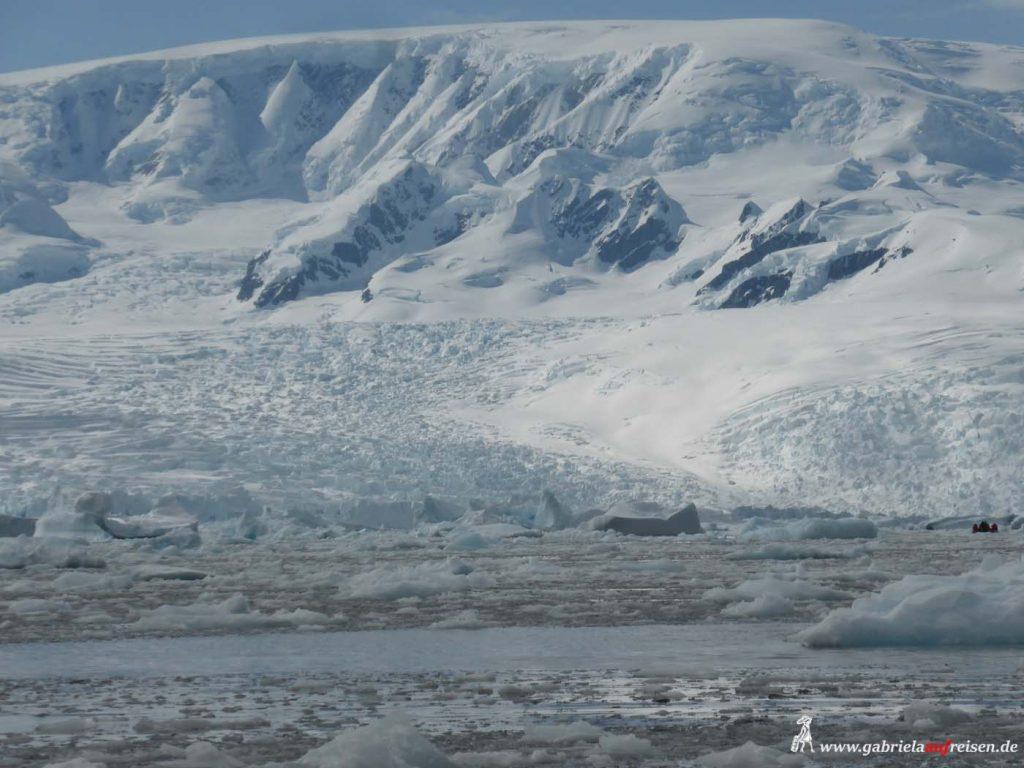 Antarktis, Cierva Cove, Blick