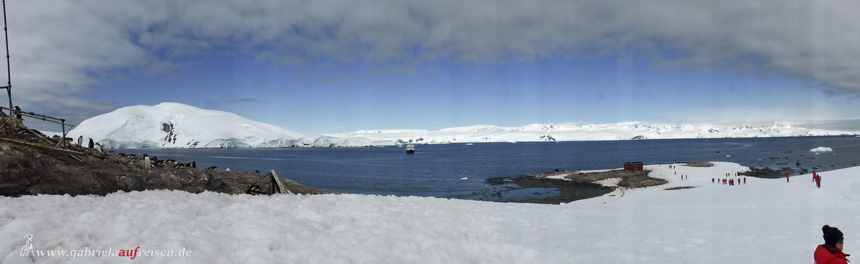 Antarktis, Mikkelsen Harbour Panorama