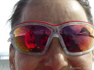 Antarktis, Yankee Island, Selfie