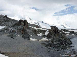 Antarctica, Halfmoon Bay, view