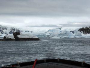 Antarktis, Spert Island, Zodiac