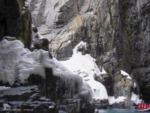 Antarctica, Spert Island, cave