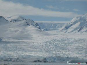 Antarktis, Cierva Cove, Gletscher