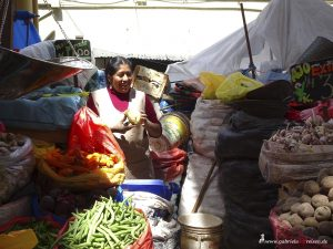 Peru, Arequipa, market, vegetables